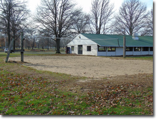 Volleyball Courts at Tri Township Park in Troy, Illinois Available for Rental for Large Groups in Illinois
