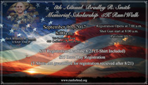 2017 Bradley R. Smith 5K Memorial and Scholarship Run