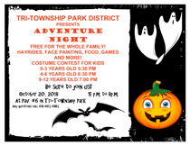 Adventure Night at Tri-Township Park in Troy IL